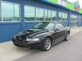 2001 Black Ford Mustang GT Convertible #79372126