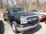 2003 Black Chevrolet Silverado 1500 Z71 Extended Cab 4x4 #79371597