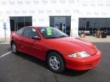 2002 Bright Red Chevrolet Cavalier Coupe #79371590
