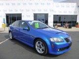 2009 Stryker Blue Metallic Pontiac G8 Sedan #79371582