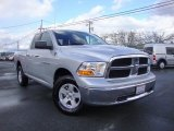 2012 Bright Silver Metallic Dodge Ram 1500 SLT Quad Cab 4x4 #79371833