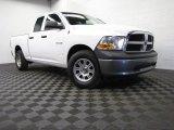 2010 Stone White Dodge Ram 1500 ST Quad Cab 4x4 #79371827