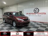 2012 Salsa Red Pearl Toyota Sienna LE #79371398