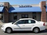 2005 White Chevrolet Malibu Sedan #7921983
