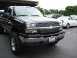 2005 Dark Gray Metallic Chevrolet Silverado 1500 LS Crew Cab #7925336