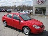 2007 Victory Red Chevrolet Cobalt LS Sedan #7925745