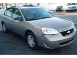 2007 Amber Bronze Metallic Chevrolet Malibu LS Sedan #7925427