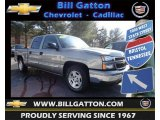 2006 Graystone Metallic Chevrolet Silverado 1500 LT Crew Cab #79372025