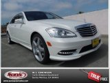 2013 Diamond White Metallic Mercedes-Benz S 550 Sedan #79371505