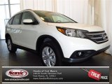2013 White Diamond Pearl Honda CR-V EX-L #79426970