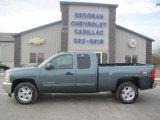 2013 Blue Granite Metallic Chevrolet Silverado 1500 LT Extended Cab 4x4 #79427361