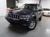2002 Patriot Blue Pearlcoat Jeep Grand Cherokee Laredo 4x4 #79427356