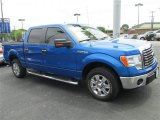 2011 Blue Flame Metallic Ford F150 XLT SuperCrew #79427094