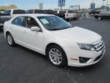 2011 White Suede Ford Fusion SEL #79427087