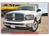 2007 Bright White Dodge Ram 1500 SLT Quad Cab #79427251