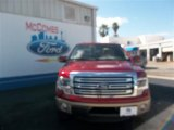 2013 Ruby Red Metallic Ford F150 Lariat SuperCrew 4x4 #79427077