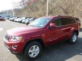 2014 Deep Cherry Red Crystal Pearl Jeep Grand Cherokee Laredo 4x4 #79427237