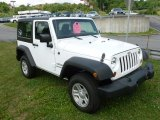 2012 Bright White Jeep Wrangler Sport 4x4 #79458825