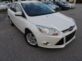 2012 Oxford White Ford Focus SEL Sedan #79463324