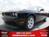 2013 Pitch Black Dodge Challenger SXT #79463199