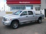 2008 Bright Silver Metallic Dodge Ram 1500 Laramie Mega Cab 4x4 #7913775