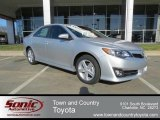 2013 Classic Silver Metallic Toyota Camry SE #79463493