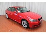 2011 Crimson Red BMW 3 Series 328i xDrive Sedan #79463120