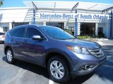 2012 Twilight Blue Metallic Honda CR-V EX-L #79463116