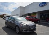 2013 Sterling Gray Metallic Ford Fusion Titanium #79463242