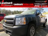 2012 Blue Granite Metallic Chevrolet Silverado 1500 Work Truck Regular Cab #79463235