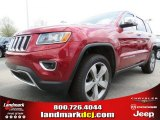 2014 Deep Cherry Red Crystal Pearl Jeep Grand Cherokee Limited 4x4 #79463214