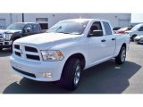 2012 Bright White Dodge Ram 1500 ST Quad Cab 4x4 #79513087