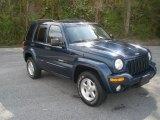 2002 Patriot Blue Pearlcoat Jeep Liberty Limited 4x4 #79513611
