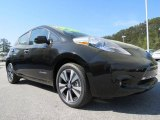 Super Black Nissan LEAF in 2013