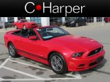 2013 Race Red Ford Mustang V6 Premium Convertible #79512952