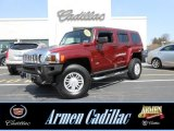 2010 Red Rock Metallic Hummer H3  #79512948
