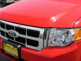 2009 Torch Red Ford Escape XLT V6 #7916043