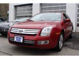 2008 Redfire Metallic Ford Fusion SEL V6 #7922686
