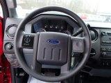 2013 Ford F350 Super Duty XL Regular Cab 4x4 Dump Truck Steering Wheel