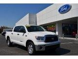 2010 Super White Toyota Tundra TRD CrewMax #79513159