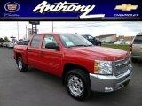 2013 Victory Red Chevrolet Silverado 1500 LT Crew Cab 4x4 #79513681