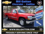 2002 Victory Red Chevrolet Silverado 1500 LS Regular Cab 4x4 #79513679