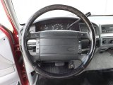 1995 Ford F150 XLT Extended Cab 4x4 Steering Wheel