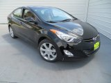 2013 Black Hyundai Elantra Limited #79513254