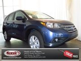 2013 Twilight Blue Metallic Honda CR-V EX-L #79513008
