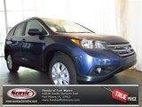 2013 Twilight Blue Metallic Honda CR-V EX-L #79513008