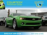 2010 Synergy Green Metallic Chevrolet Camaro LT Coupe Synergy Special Edition #79513658