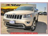 2014 Cashmere Pearl Jeep Grand Cherokee Limited #79513408
