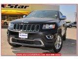 2014 Brilliant Black Crystal Pearl Jeep Grand Cherokee Limited #79513406