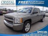 2008 Graystone Metallic Chevrolet Silverado 1500 LT Extended Cab #79513526